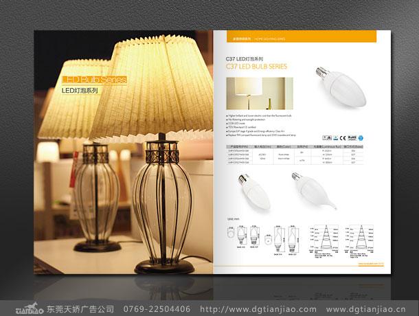 东莞画册设计-天娇led宣传册led展会目录创意设计欣赏图片